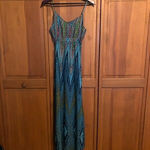 Charlie Jade tank maxi dress size Large